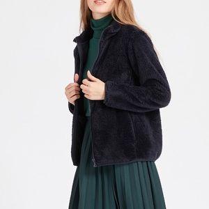 Uniqlo Women's Fluffy Yarn Fleece Full-zip Jacket
